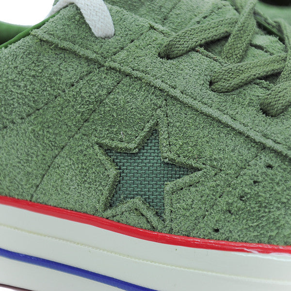 "CONVERSE ONE STAR OX ""UNDEFEATED OLIVE"" 2017 158894C"