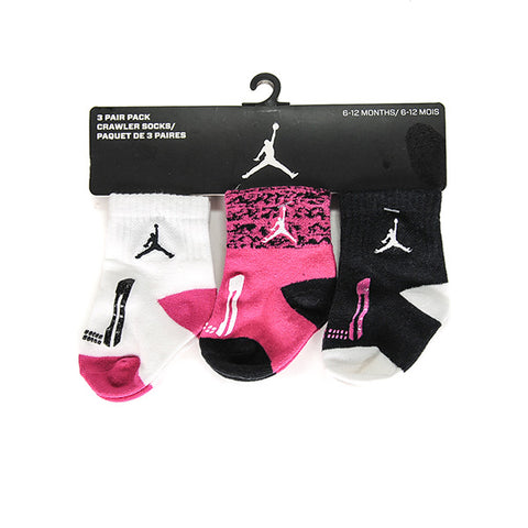 AIR JORDAN CRAWLER SOCKS 3-PAIR PACK