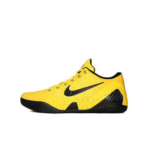 "NIKE KOBE 9 ELITE LOW PE GI ""BLACK/SILVER"" 2014 639045-424"