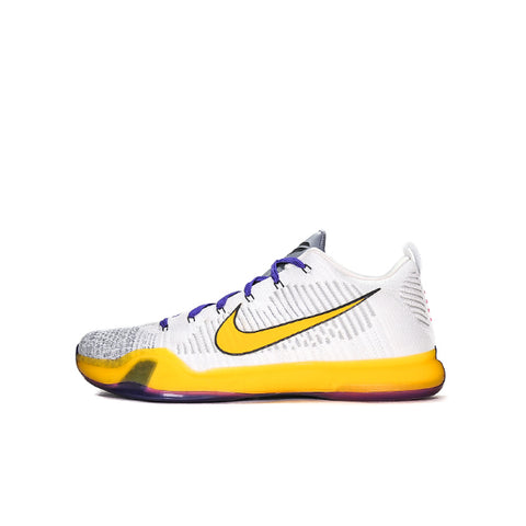 "NIKE KOBE 10 ELITE LOW PE GI ""LAKERS HOME"" 747212-565634"