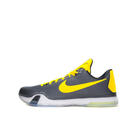 "NIKE KOBE 10 PE ""BLACK/YELLOW"" 705317-541233"