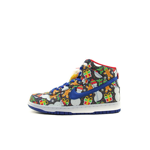 "NIKE SB DUNK HIGH GS ""CONCEPTS UGLY CHRISTMAS SWEATER"" 2017 AO1559-446"