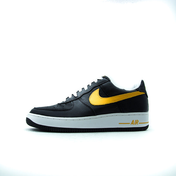 "NIKE AIR FORCE 1 LOW ""BLACK/GOLD"" 2004 306353-071"