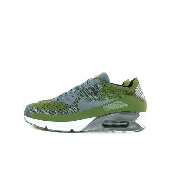 "AIR MAX 90 ULTRA 2.0 FLYKNIT ""OLIVE GREEN"" 2017 875943-300"
