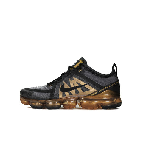"NIKE AIR VAPORMAX ""BLACK METALLIC GOLD"" 2019 AR6631-002"