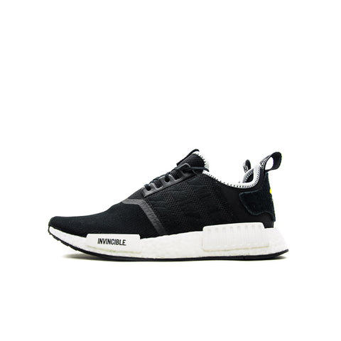 "ADIDAS NMD R1 NEIGHBORHOOD X INVINCIBLE ""CORE BLACK"" 2017 CQ1775"