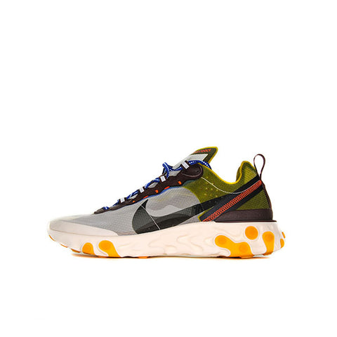 "NIKE REACT ELEMENT 87 ""MOSS"" 2019 AQ1090-300"