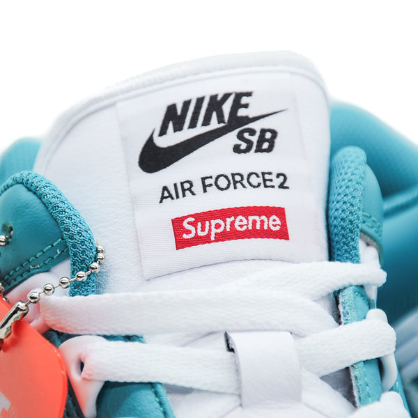 "NIKE SB AIR FORCE 2 LOW ""SUPREME BLUE"" 2017"