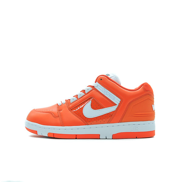 SUPREME X NIKE SB AIR FORCE 2 LOW ORANGE