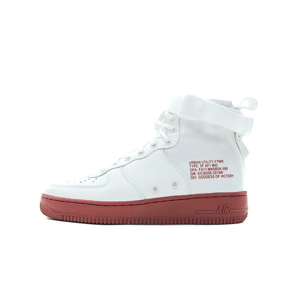 "NIKE SF AIR FORCE 1 MID ""IVORY MARS STONE"" 2017 917753-100"