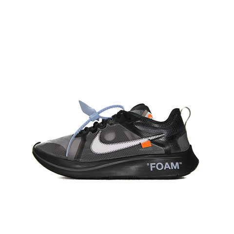 NIKE ZOOM FLY OFF WHITE BLACK SILVER AJ4588-001