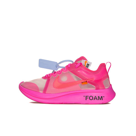 "NIKE ZOOM FLY OFF-WHITE ""PINK"" 2018 AJ4588-600"