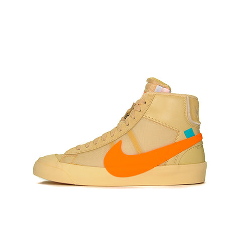 "NIKE BLAZER MID OFF-WHITE ""ALL HALLOW'S EVE"" 2018 AA3832-700"