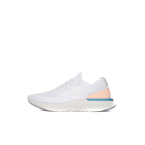 "NIKE EPIC REACT FLYKNIT WMNS ""PURE PLATINUM"" 2018 AQ0070-014"
