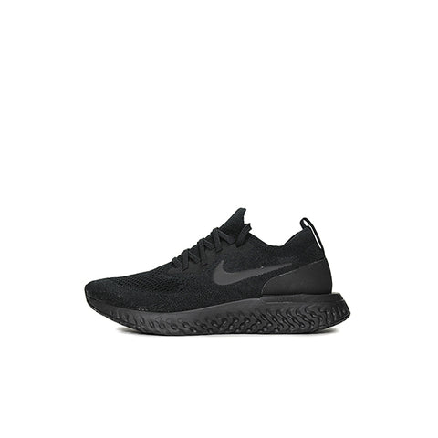 "NIKE EPIC REACT FLYKNIT W ""TRIPLE BLACK"" 2018 AQ0070-003"