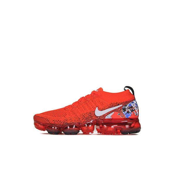 NIKE VAPORMAX FLYKNIT 2.0 ORE WHITE RED
