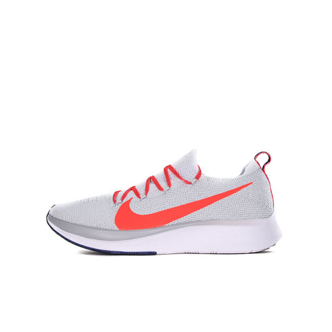 "NIKE ZOOM FLY FLYKNIT ""PURE PLATINUM/BRIGHT CRIMSON"" 2018 AR4561-044"