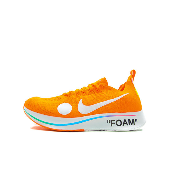 "NIKE ZOOM FLY MERCURIAL OFF-WHITE ""TOTAL ORANGE"" 2018 AO2115-800"