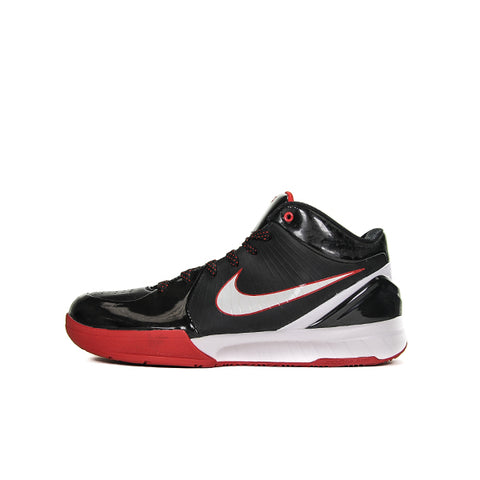 "NIKE KOBE 4 ""BLACK WHITE VARSITY RED"" 2009 344335-012"