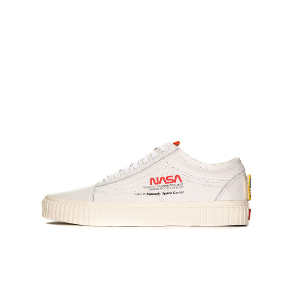 "VANS OLD SKOOL NASA SPACE VOYAGER ""TRUE WHITE"" 2018 VN0A38G1UP91"