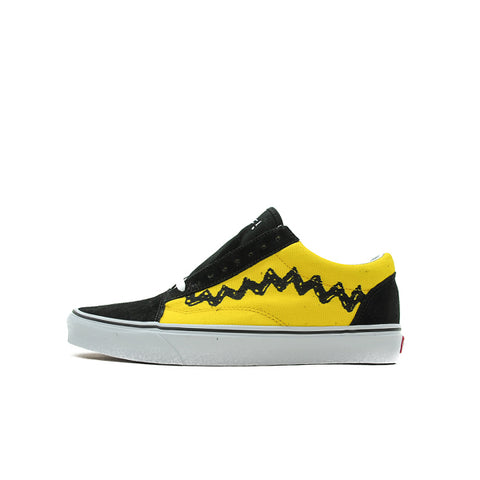 "VANS OLD SKOOL ""PEANUTS CHARLIE BROWN"" 2017 VN0A38G1OHJ"