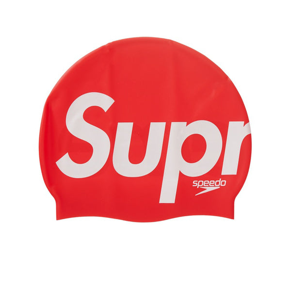 SPEEDO X SUPREME SWIM CAP RED SS20