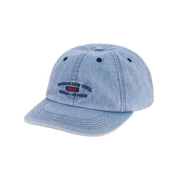 SUPREME WORLD FAMOUS 6-PANEL DENIM SS21