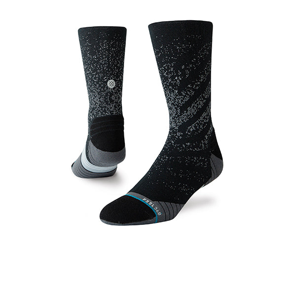 STANCE ATH UNCOMMON CREW BLACK SOCKS