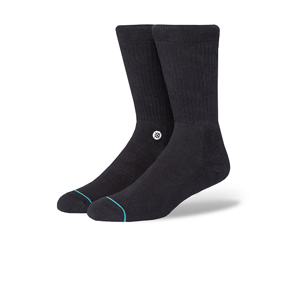 STANCE STP ICON BLACK/WHITE SOCKS