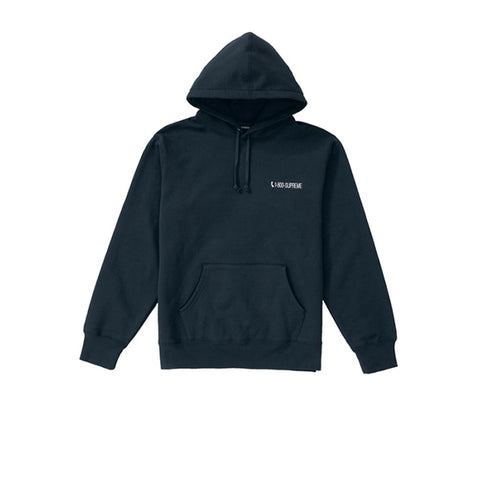 SUPREME 1-800 HOODED SWEATSHIRT NAVY FW19