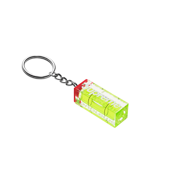 SUPREME LEVEL KEYCHAIN NEON FW18