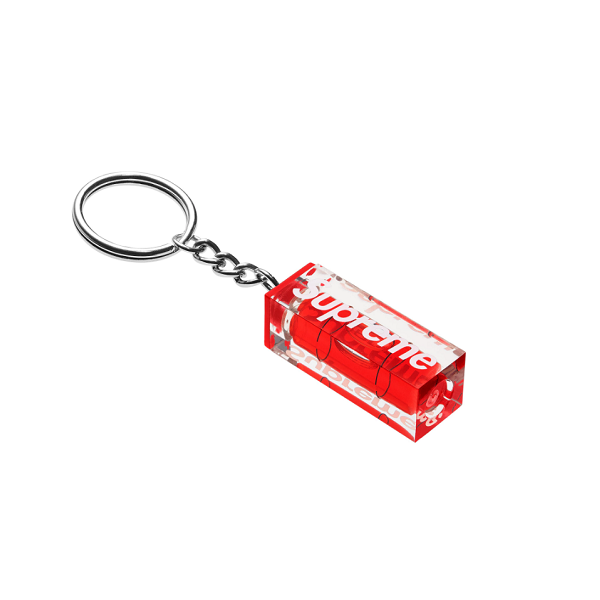 SUPREME LEVEL KEYCHAIN RED FW18
