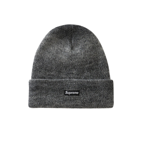SUPREME MOHAIR BEANIE MIXED GREY FW19