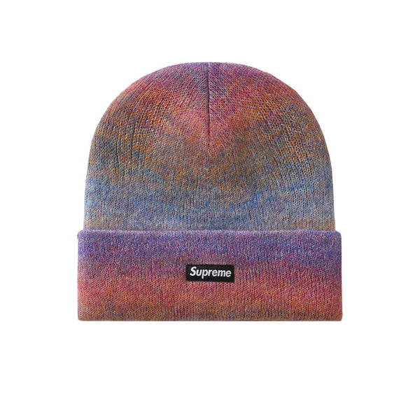 SUPREME MOHAIR BEANIE MIXED PINK FW19