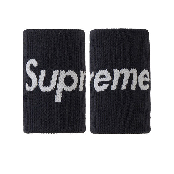 SUPREME X NIKE NBA WRISTBANDS BLACK SS19