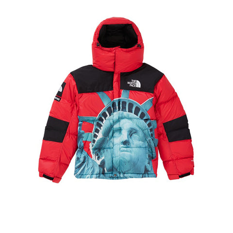 SUPREME THE NORTH FACE STATUE OF LIBERTY BALTORO JACKET RED FW19