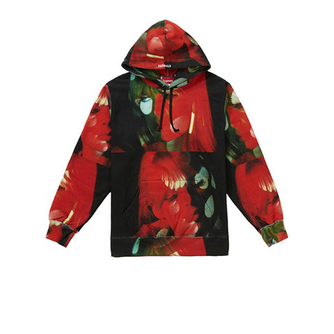 SURPREME THE VELVET UNDERGROUND NICO HOODED SWEATSHIRT MULTICOLOR