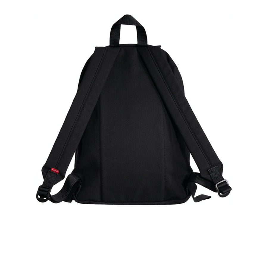 SUPREME CANVAS BACKPACK BLACK FW20