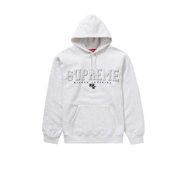 SUPREME GEMS HOODED SWEATSHIRT ASH GREY SS20