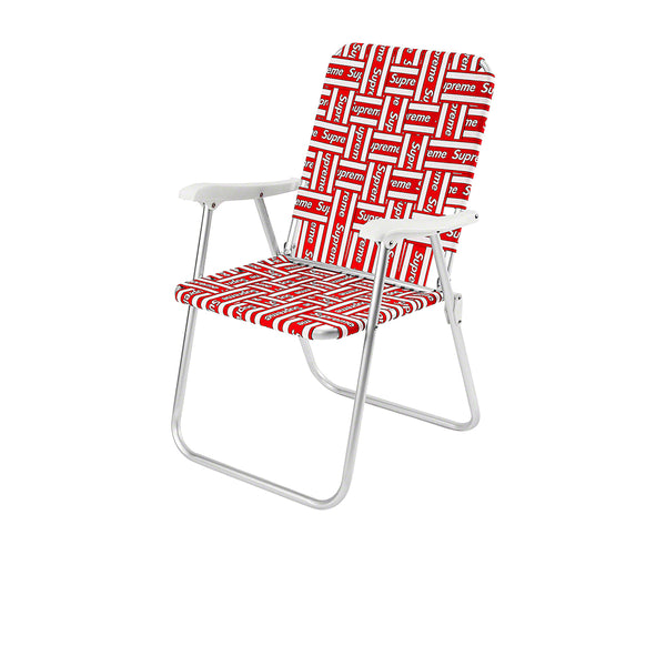 SUPREME LAWN CHAIR RED SS20