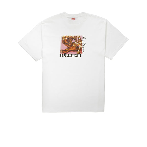 SUPREME LOVERS TEE WHITE FW20