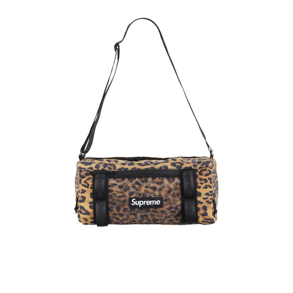 SUPREME MINI DUFFLE BAG LEOPARD FW20