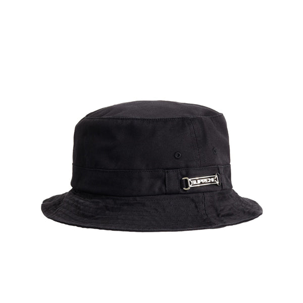 SUPREME NAME PLATE CRUSHER BLACK SS20