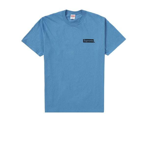 SUPREME NO MORE SHIT TEE DUSTY ROYAL FW20