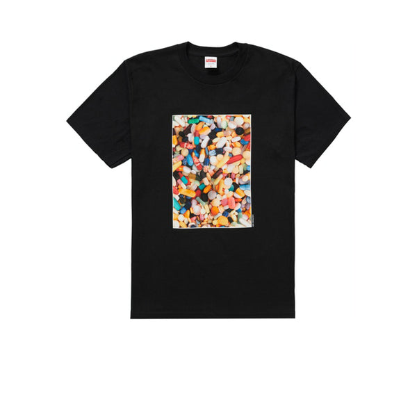 SUPREME PILLS TEE BLACK FW20