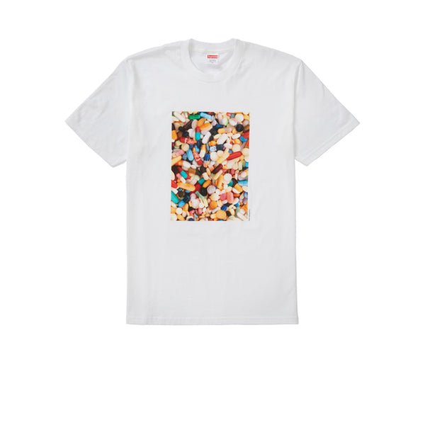SUPREME PILLS TEE WHITE FW20