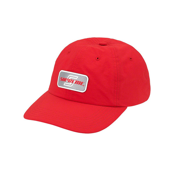 SUPREME REFLECTIVE PATCH 6-PANEL RED SS20