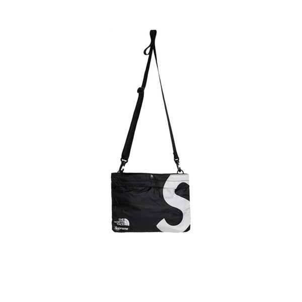 THE NORTH FACE X SUPREME S LOGO SHOULDER BAG BLACK FW20