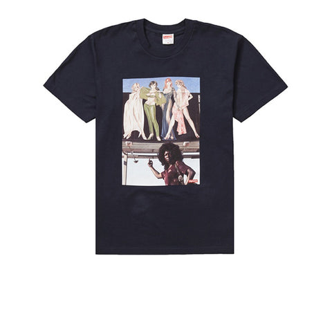 SUPREME AMERICAN PICTURE TEE NAVY FW19