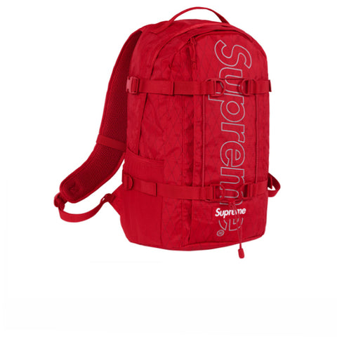SUPREME BACKPACK RED FW18